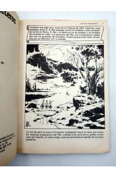 Muestra 1 de LIBROS GRÁFICOS 2. TRES MOSQUETEROS FRANKENSTEIN S. HOLMES (Redondo / Niño) Ediprint 1982