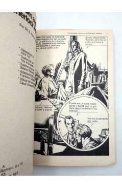 Muestra 3 de LIBROS GRÁFICOS 2. TRES MOSQUETEROS FRANKENSTEIN S. HOLMES (Redondo / Niño) Ediprint 1982