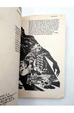 Muestra 5 de LIBROS GRÁFICOS 2. TRES MOSQUETEROS FRANKENSTEIN S. HOLMES (Redondo / Niño) Ediprint 1982