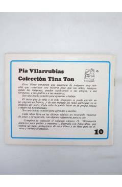 Contracubierta de COLECCIÓN TINA TON 10. BUENOS DÍAS (Pía Vilarrubias) Juventud 1983