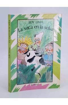 Cubierta de LA VACA EN LA SELVA.. Juventud 1987