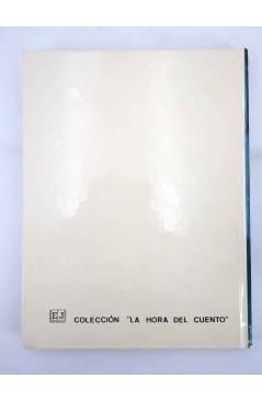 Contracubierta de LA HORA DEL CUENTO. SIETE CUENTOS (Rodrigo Atria / Gloria Carasusan) Juventud 1978