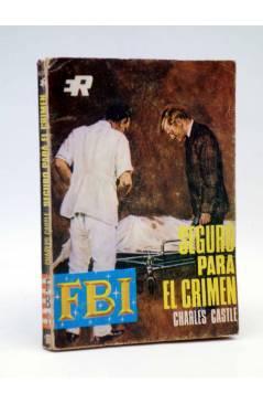 Cubierta de FBI F.B.I. 910. SEGURO PARA CRÍMENES (Charles Castle) Rollán 1968