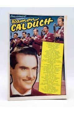 Cubierta de CANCIONERO. RAMÓN CALDUCH. Bistagne 1959