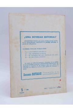 Contracubierta de CANCIONERO DE ACTUALIDAD.. GELU DE MONTEMAR. Bistagne 1961