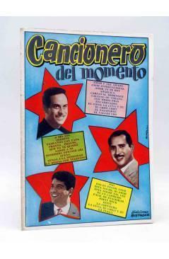 Cubierta de CANCIONERO. DEL MOMENTO. Bistagne 1961