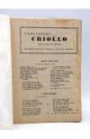 Muestra 1 de CANCIONERO CRIOLLO. SELECCIÓN DE ÉXITOS. Bistagne Circa 1950