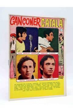 Cubierta de CANCIONERO 237. CANÇONER CATALÀ. JM SERRAT LLUIS LLACH ALBERO…. Bistagne 1968