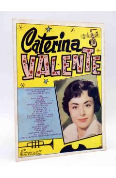 Cubierta de CANCIONERO. CATERINA VALENTE. Bistagne 1960