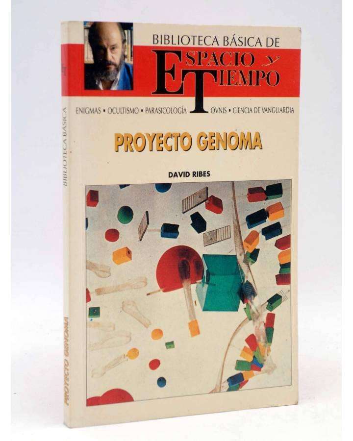 Cubierta de BIBLIOTECA BÁSICA ESPACIO TIEMPO 40. PROYECTO GENOMA (David Ribes) Espacio y Tiempo 1992