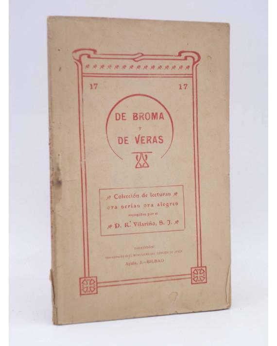 Cubierta de DE BROMA Y DE VERAS 17. SOBRE EMIGRANTES (No Acreditado) El Mensajero del Corazón de Jesús Circa 1910