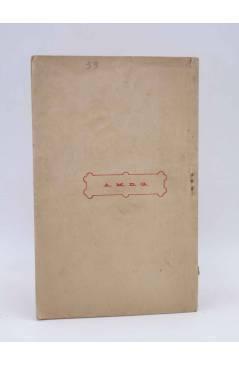 Contracubierta de DE BROMA Y DE VERAS 17. SOBRE EMIGRANTES (No Acreditado) El Mensajero del Corazón de Jesús Circa 1910