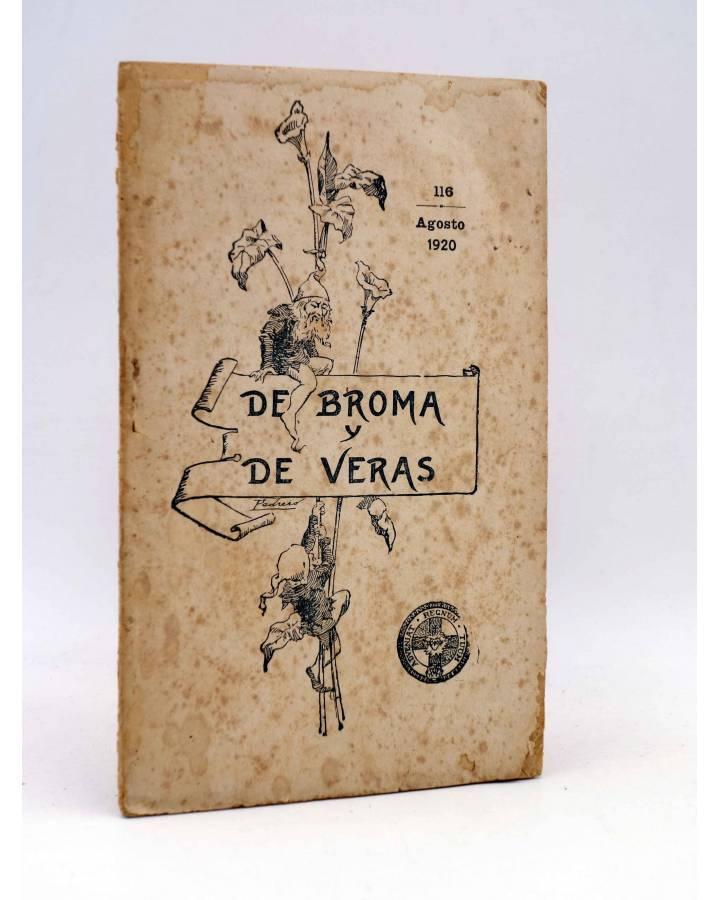 Cubierta de DE BROMA Y DE VERAS 116. ESCENAS CATEQUISTAS (Federico De Urcaregui) El Mensajero del Corazón de Jesús 1920