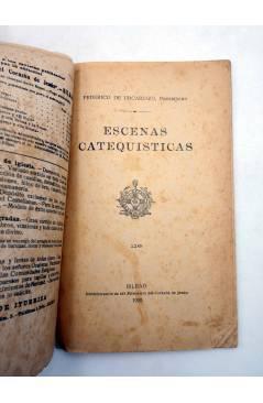 Muestra 1 de DE BROMA Y DE VERAS 116. ESCENAS CATEQUISTAS (Federico De Urcaregui) El Mensajero del Corazón de Jesús 1920