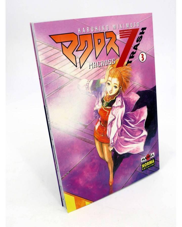 Cubierta de MANGA GRAN VOLUMEN 28. MACROSS 7 TRASH 3 (Haruhiko Mikimoto) Norma 1998