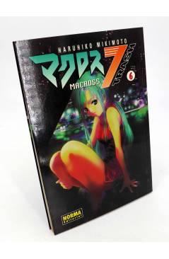 Cubierta de MANGA GRAN VOLUMEN 36. MACROSS 7 TRASH 6 (Haruhiko Mikimoto) Norma 2002