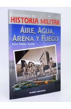 Cubierta de AIRE AGUA ARENA Y FUEGO (E Herrera Alonso) Quirón 2002