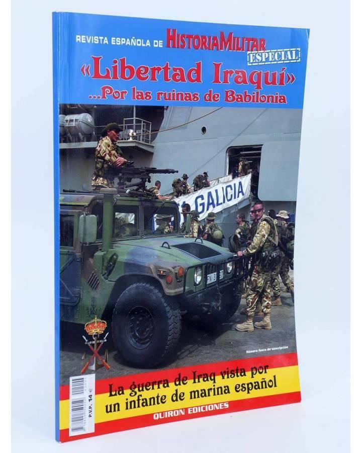 Cubierta de LIBERTAD IRAQUÍ. POR LAS RUINAS DE BABILONIA (David Rodríguez Picallo) Quirón 1999