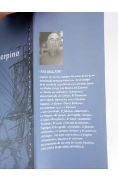Contracubierta de UNA SAGA MARINERA ESPAÑOLA 14. LA FRAGATA PROSERPINA (Luís Delgado) Noray 2008
