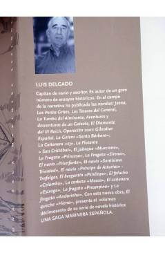 Contracubierta de UNA SAGA MARINERA ESPAÑOLA 16. EL QUECHE HIENA (Luís Delgado) Noray 2009