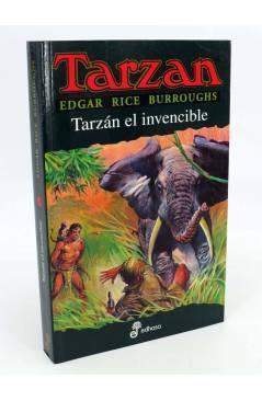 Cubierta de TARZAN 14. TARZÁN EL INVENCIBLE (Edgar Rice Burroughs) Edhasa 2001