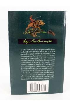Contracubierta de TARZAN 14. TARZÁN EL INVENCIBLE (Edgar Rice Burroughs) Edhasa 2001