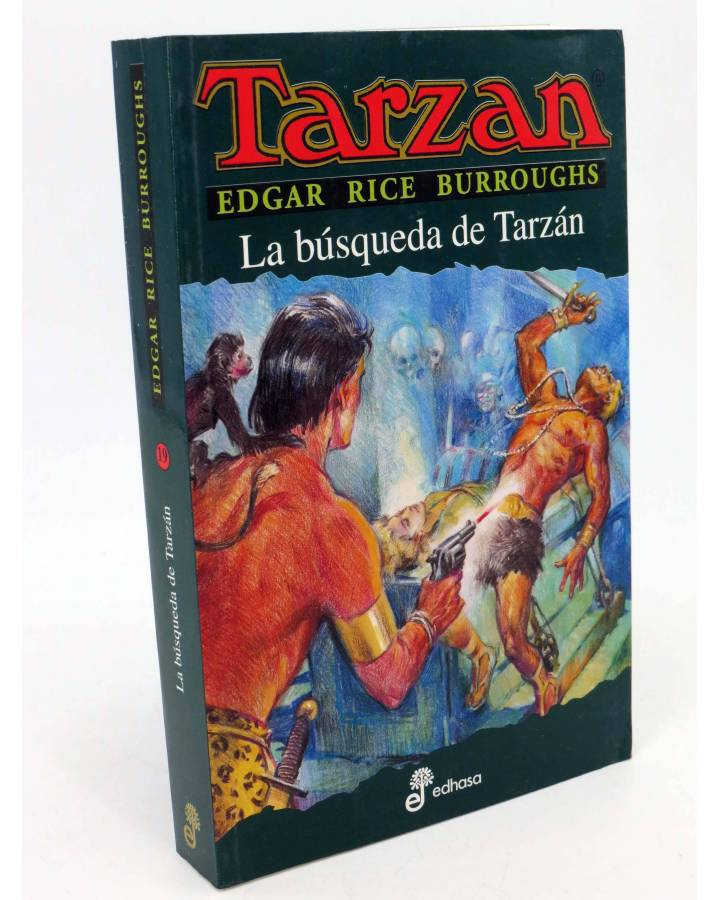 Cubierta de TARZAN 19. LA BÚSQUEDA DE TARZÁN (Edgar Rice Burroughs) Edhasa 2005