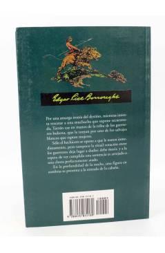 Contracubierta de TARZAN 19. LA BÚSQUEDA DE TARZÁN (Edgar Rice Burroughs) Edhasa 2005