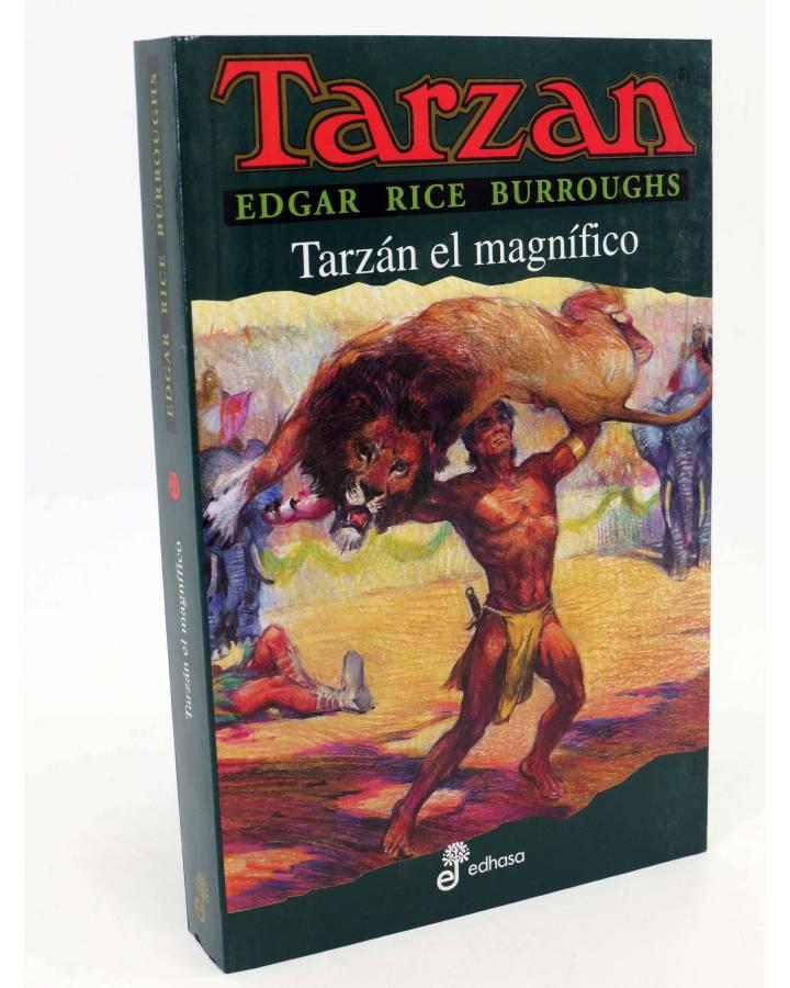 Cubierta de TARZAN 21. TARZÁN EL MAGNÍFICO (Edgar Rice Burroughs) Edhasa 2006