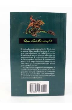 Contracubierta de TARZAN 21. TARZÁN EL MAGNÍFICO (Edgar Rice Burroughs) Edhasa 2006