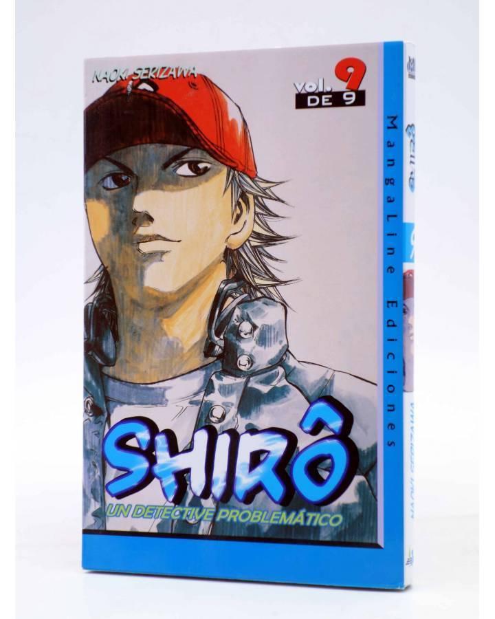 Cubierta de SHIRO UN DETECTIVE PROBLEMÁTICO 9 (Naoki Serizawa) Mangaline 2007