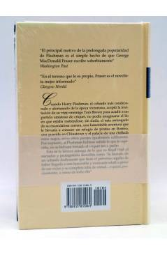 Contracubierta de LAS AVENTURAS DE HARRY FLASHMAN III 3. FLASHMAN Y SEÑORA (George Macdonald Fraser) Edhasa 1998