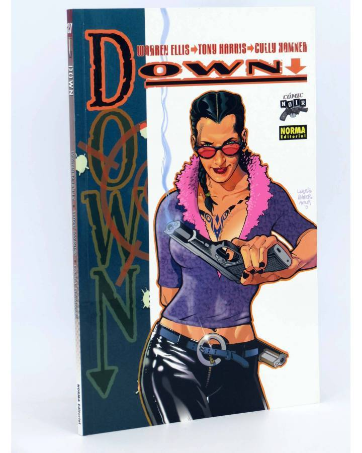 Cubierta de COMIC NOIR 27. DOWN (Warren Ellis / Tony Harris) Norma 2007