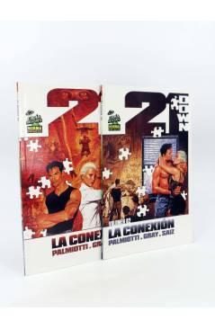 Cubierta de 21 DOWN: LA CONEXIÓN 1 Y 2. COMPLETA (Justin Gray / Jesús Saiz) Norma 2008