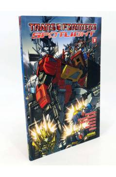 Cubierta de TRANSFORMERS SPOTLIGHT 3 (Furman Milne Guidi Etc) Norma 2009