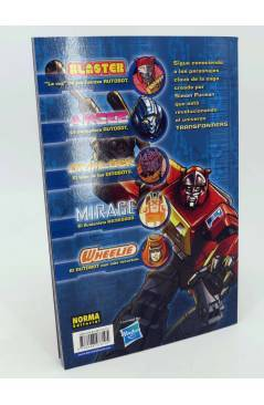 Contracubierta de TRANSFORMERS SPOTLIGHT 3 (Furman Milne Guidi Etc) Norma 2009