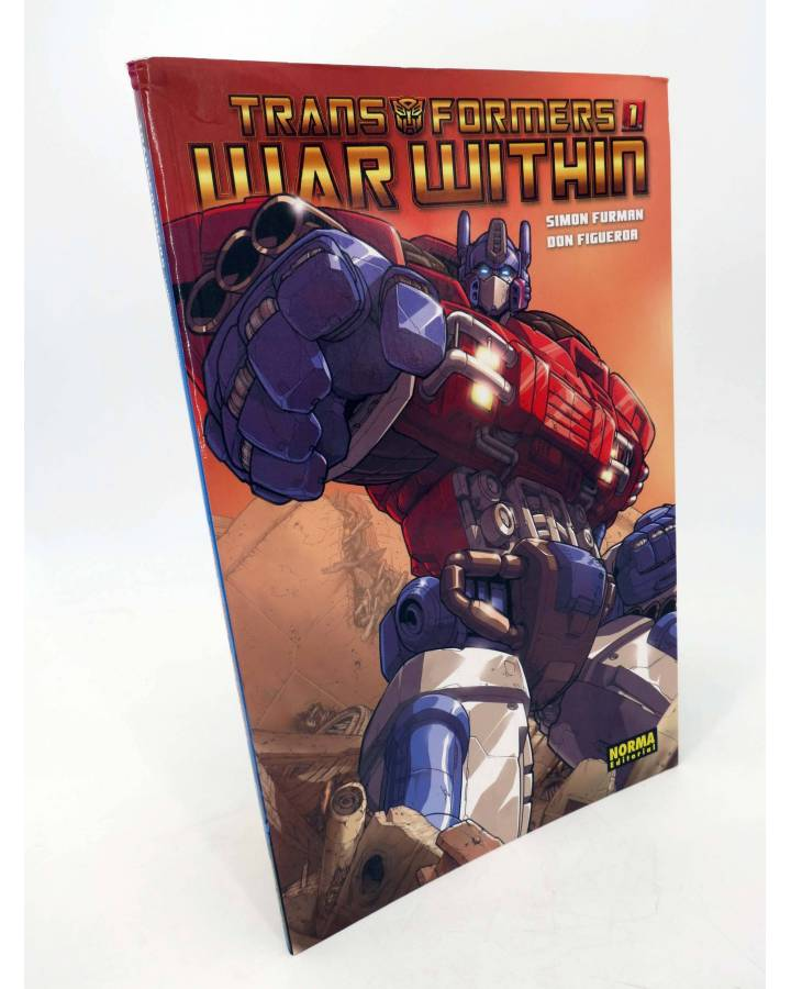 Cubierta de TRANSFORMERS WAR WITHIN 1 (Simon Furman / Don Figueroa) Norma 2009