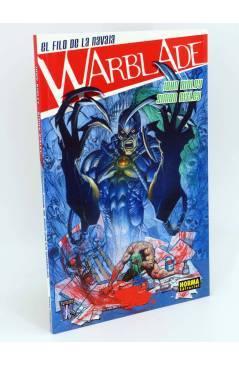 Cubierta de WARBLADE. EL FILO DE LA NAVAJA (John Ridley / Simon Bisley) Norma 2007