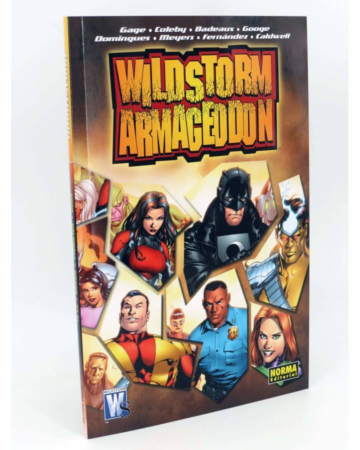 Cubierta de WILDSTORM. ARMAGEDDON (Vvaa) Norma 2008