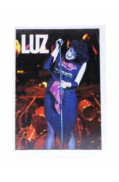 Cubierta de CROMO SUPER MUSICAL 60. LUZ CASAL. Eyder Circa 1980