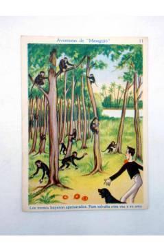 Muestra 2 de AVENTURAS DE MASAGRÁN COLECCIÓN DE 30 CROMOS. 1 A 30. COMPLETA (A. Pascual Antolí) Chocolates Amatller Circ