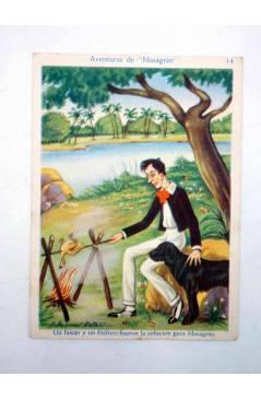 Muestra 3 de AVENTURAS DE MASAGRÁN COLECCIÓN DE 30 CROMOS. 1 A 30. COMPLETA (A. Pascual Antolí) Chocolates Amatller Circ