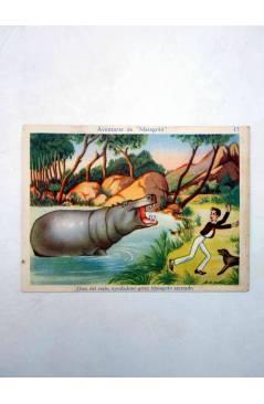Muestra 4 de AVENTURAS DE MASAGRÁN COLECCIÓN DE 30 CROMOS. 1 A 30. COMPLETA (A. Pascual Antolí) Chocolates Amatller Circ