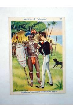 Muestra 5 de AVENTURAS DE MASAGRÁN COLECCIÓN DE 30 CROMOS. 1 A 30. COMPLETA (A. Pascual Antolí) Chocolates Amatller Circ