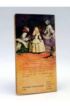 Contracubierta de ENCICLOPEDIA POPULAR ILUSTRADA SERIE M 6. VELÁZQUEZ EL SILENCIOSO (Rómulo Horcajada) G.P. 1962