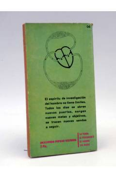 Contracubierta de ENCICLOPEDIA POPULAR ILUSTRADA SERIE P 17. LAS MÁS RECIENTES CONQUISTAS DE LA MEDICINA (Dr. Miguel Nie