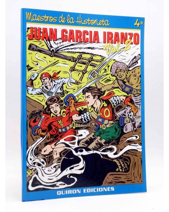 Cubierta de MAESTROS DE LA HISTORIETA 4. JUAN GARCÍA IRANZO VOL 2 (Vvaa) Quirón 1999