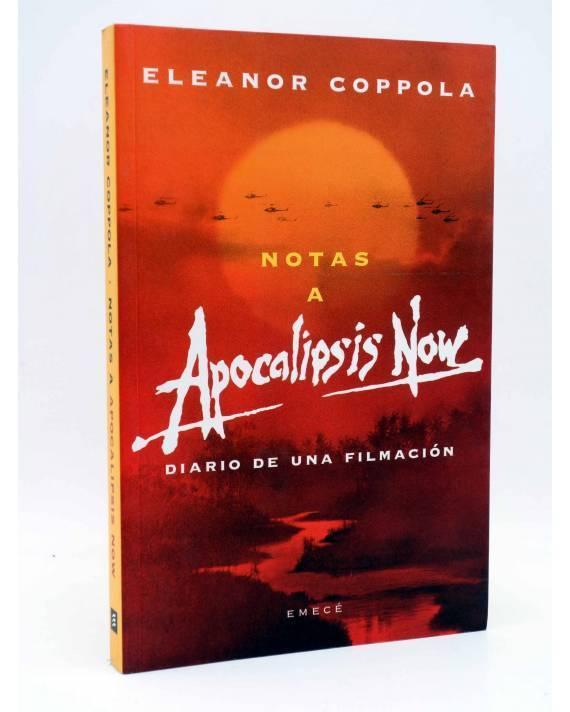 Cubierta de NOTAS A APOCALIPSIS NOW. DIARIO DE UNA FILMACIÓN (Eleanor Coppola) Emecé 2002