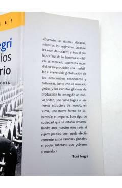 Muestra 1 de INTELECTUALES. TONI NEGRI Y LOS DESAFÍOS DE IMPERIO (Néstor Kohan) Campo de Ideas 2002