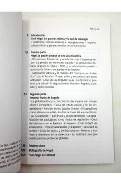Muestra 2 de INTELECTUALES. TONI NEGRI Y LOS DESAFÍOS DE IMPERIO (Néstor Kohan) Campo de Ideas 2002